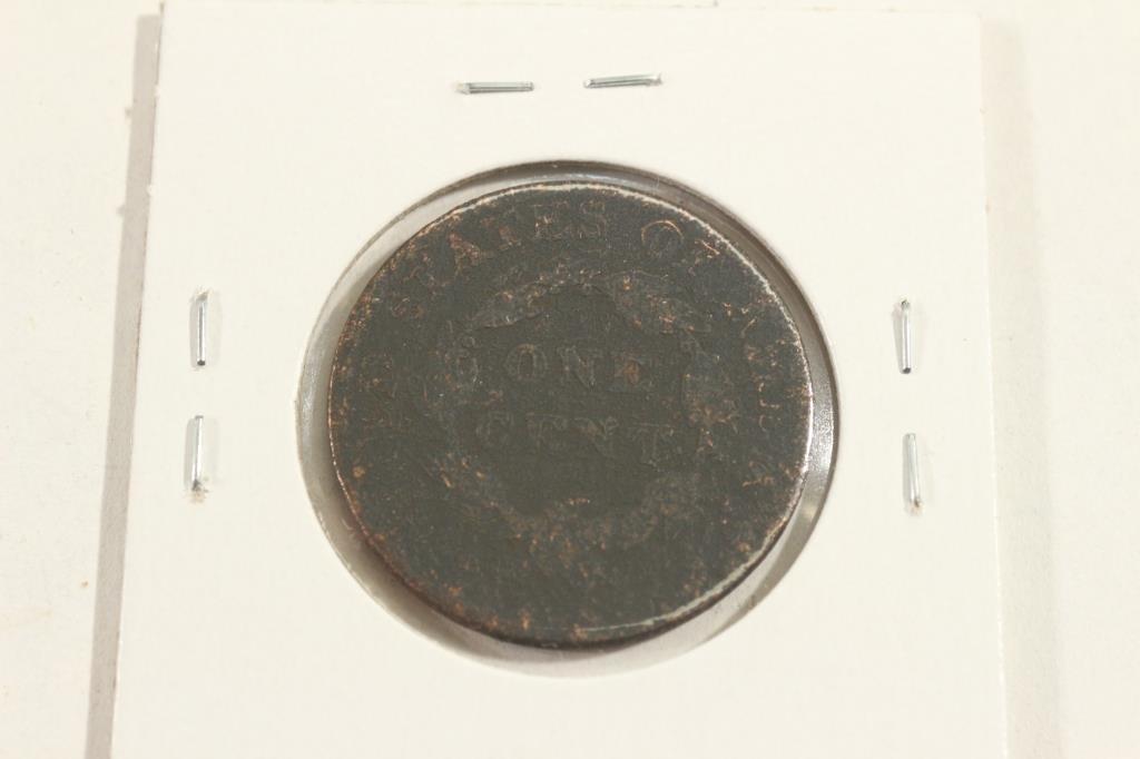 1824 US LARGE CENT - 2
