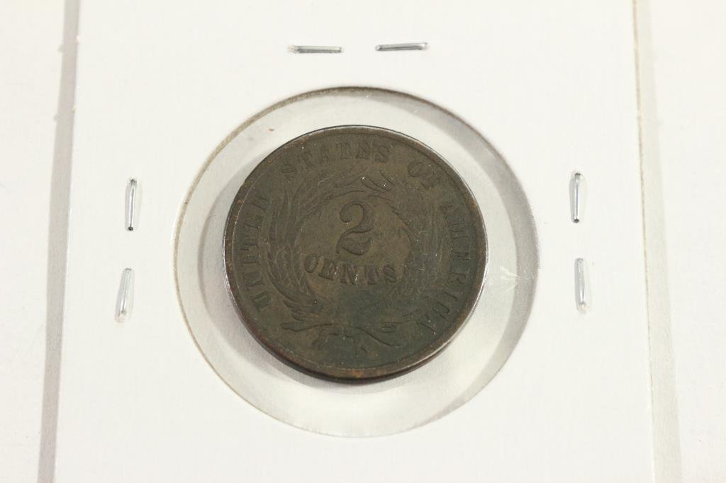 1864 US TWO CENT PIECE - 2