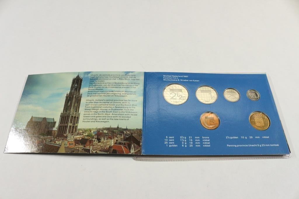 1987 NETHERLAND DUTCH MINT SET ORIGINAL MINT