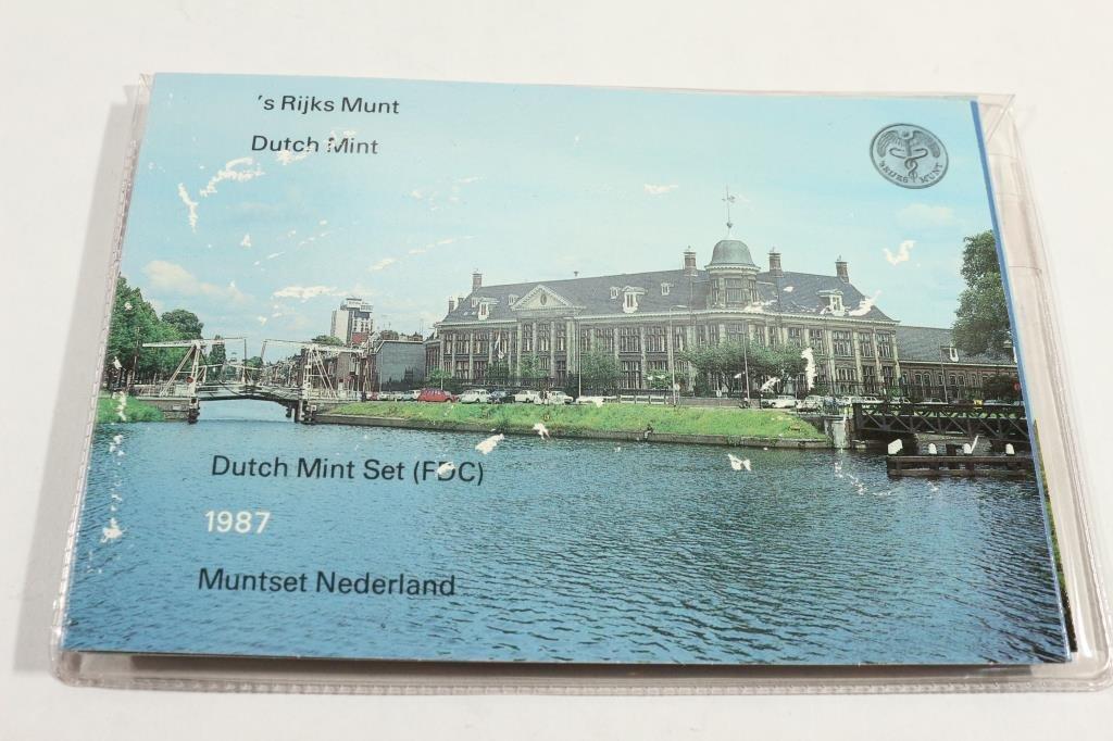 1987 NETHERLAND DUTCH MINT SET ORIGINAL MINT - 3