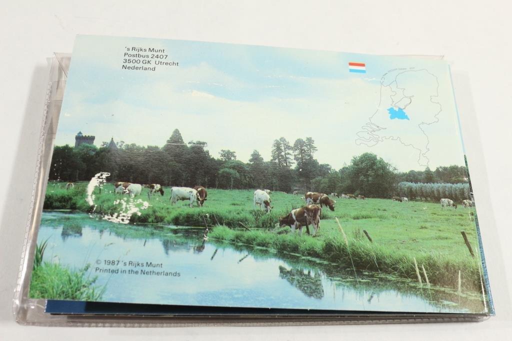 1987 NETHERLAND DUTCH MINT SET ORIGINAL MINT - 4
