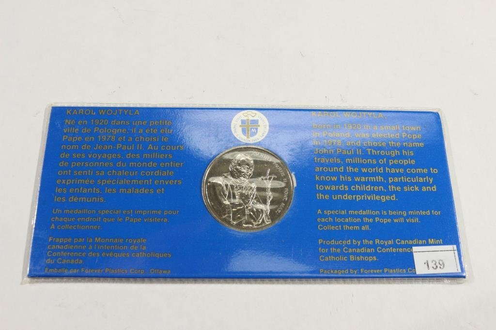 1984 CANADA TOKEN TO COMMEMORATE THE PASTORAL - 2