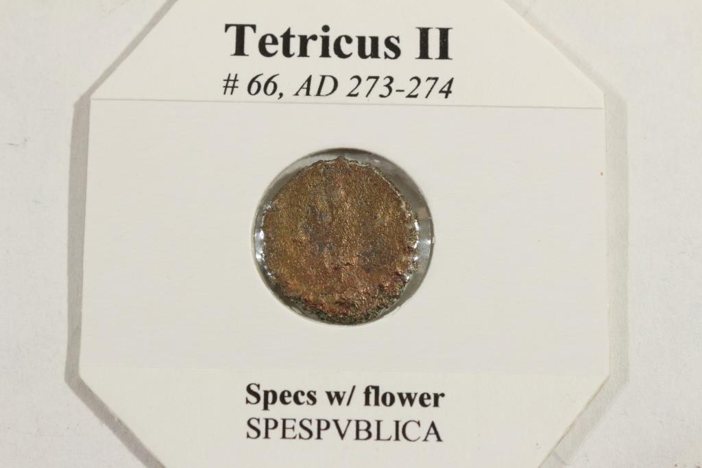 273-274 A.D. TETRICUS II ANCIENT COIN (FINE) - 2