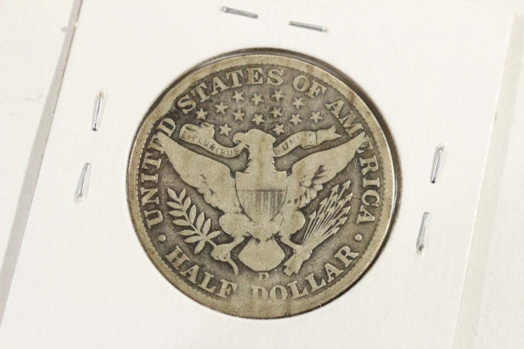 1907-D  BARBER HALF DOLLAR - 2
