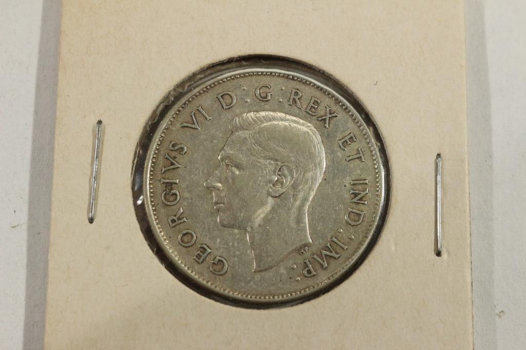 1943 CANADA SILVER 50 CENTS - 2