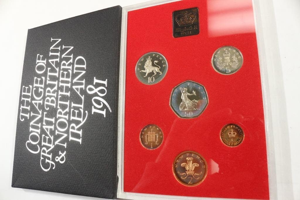 1981 GREAT BRITAIN AND NORTHERN IRELAND PROOF SET