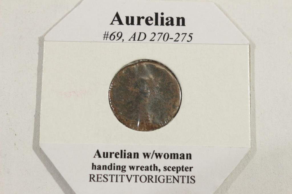 270-275 A.D. AURELIAN ANCIENT COIN
