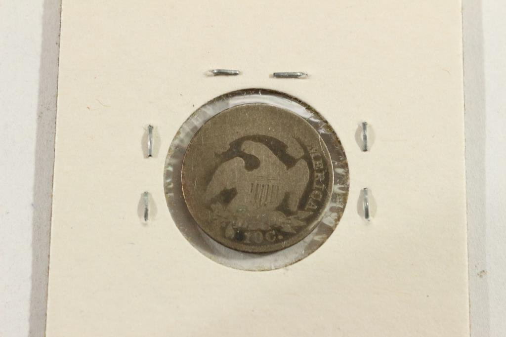 1836 CAPPED  BUST DIME - 2