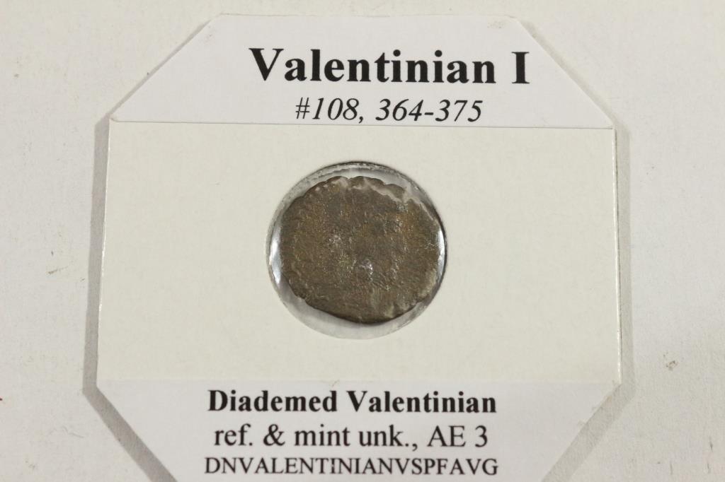 364-375 A.D. VALENTINIAN I ANCIENT COIN - 2