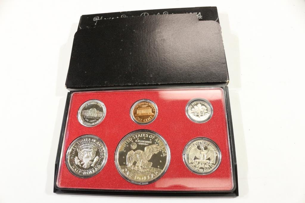 1974 US PROOF SET (WITH BOX) - 2