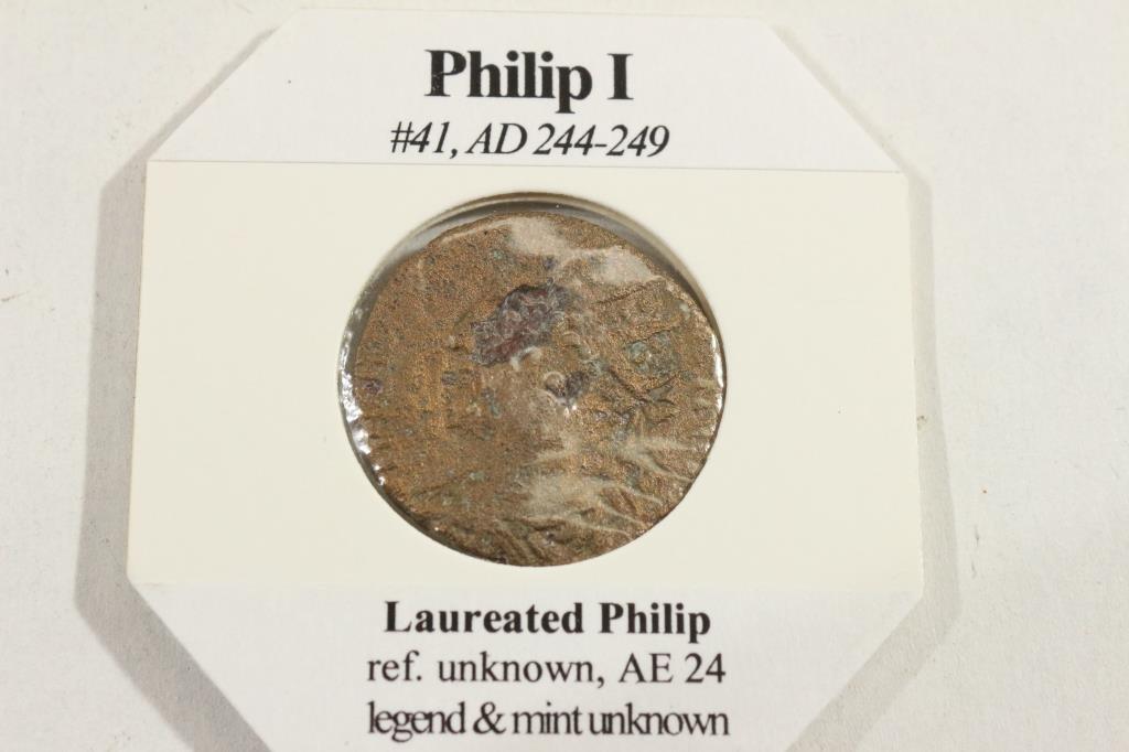 244-249 A.D. PHILIP I ANCIENT COIN - 2