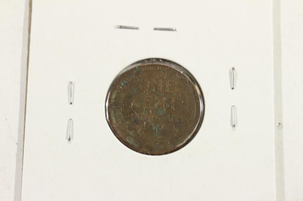 1913-S LINCOLN CENT (SEMI-KEY) VERY FINE - 2