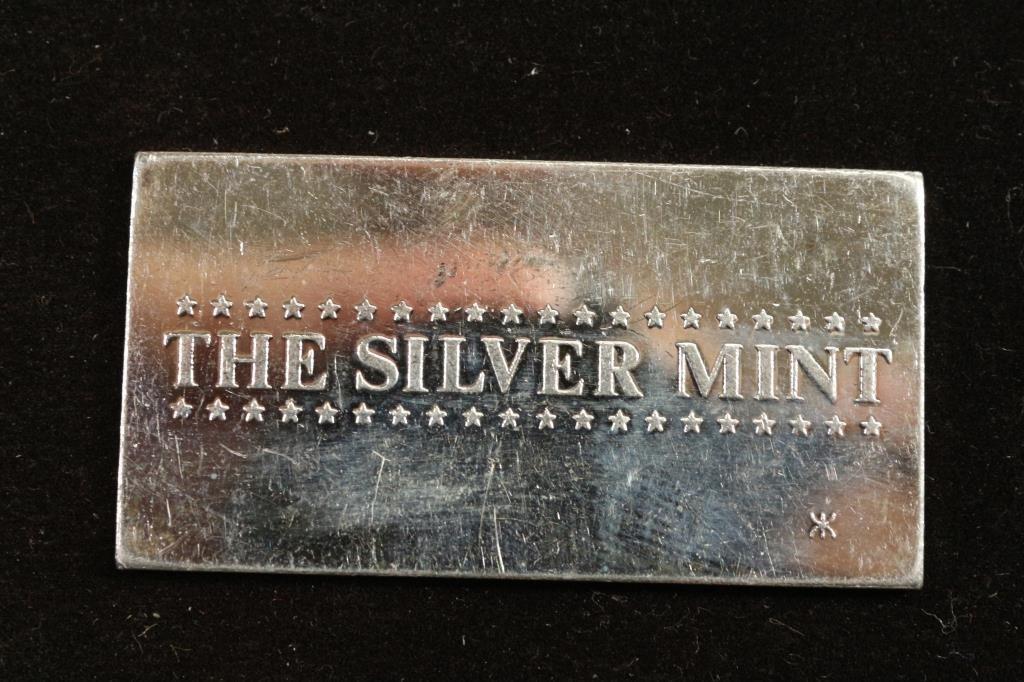 20 GRAM .999 FINE SILVER INGOT ''THE SILVER MINT'' - 2