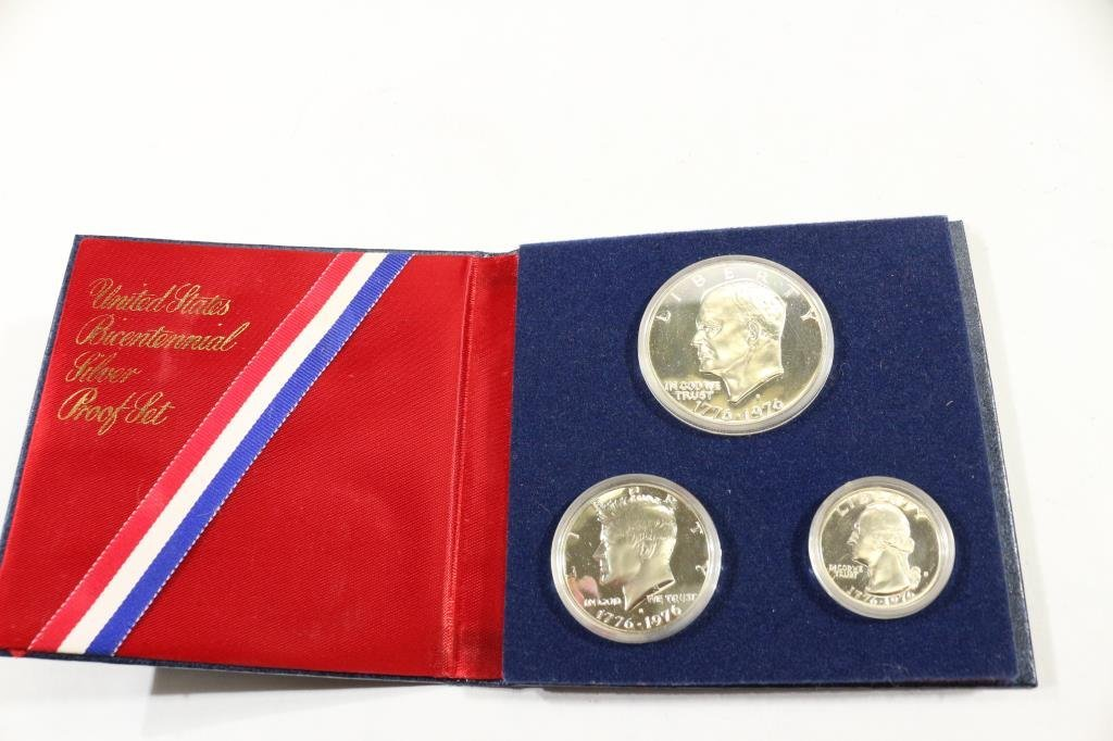 1976-S US BICENTENNIAL SILVER PROOF SET