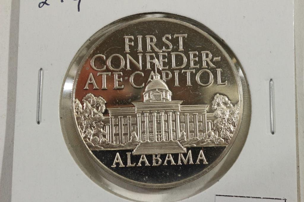 27 GRAM STERLING SILVER PROOF ROUND FIRST