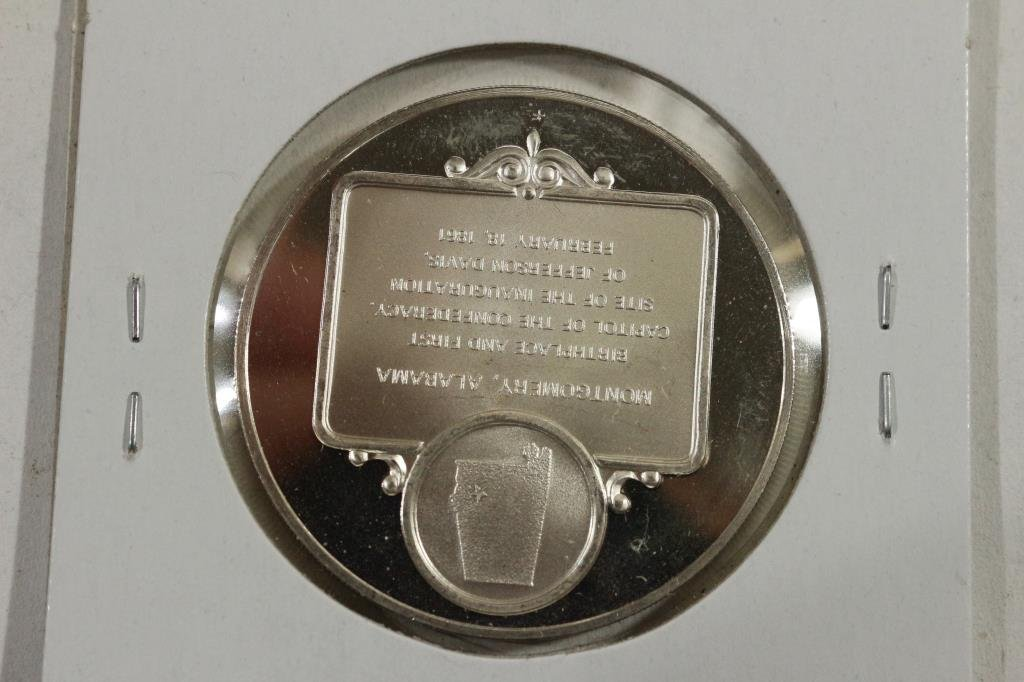 27 GRAM STERLING SILVER PROOF ROUND FIRST - 2