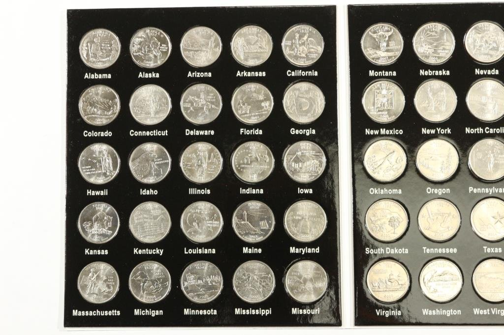 50 STATES QUARTER COLLECTION 50 COINS - 2