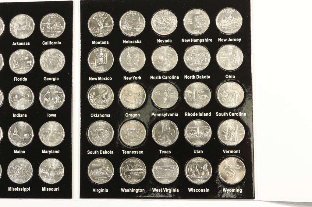 50 STATES QUARTER COLLECTION 50 COINS - 3