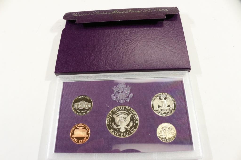 1992  US PROOF SET (WITH BOX) - 2