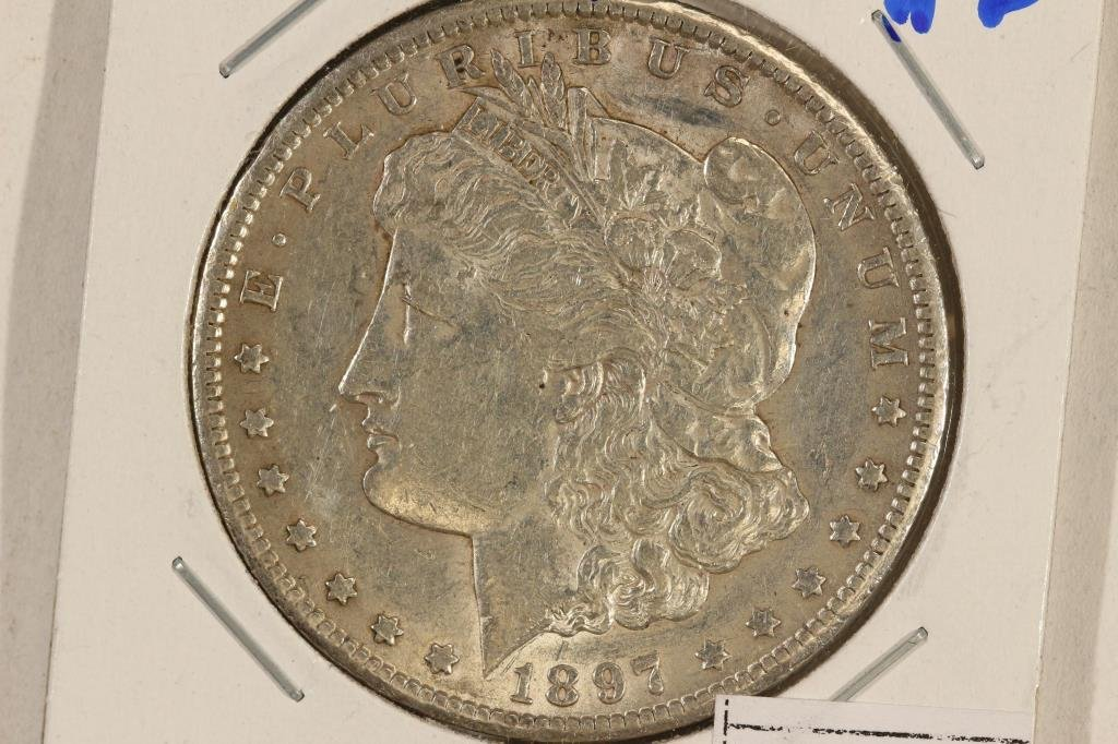 1897-S MORGAN SILVER DOLLAR