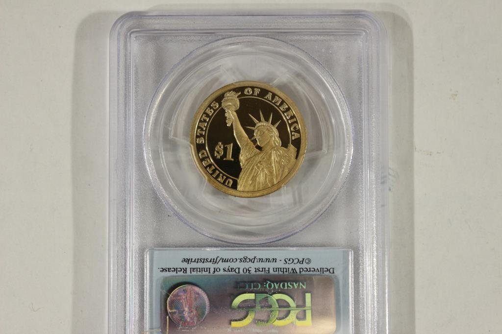 2007-S MADISON DOLLAR PCGS PR69 DCAM 1ST STRIKE - 2