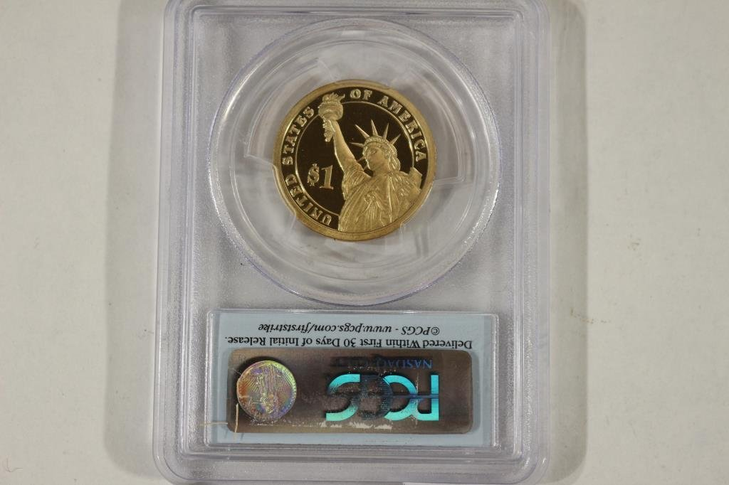 2007-S MADISON DOLLAR PCGS PR69 DCAM 1ST STRIKE - 3