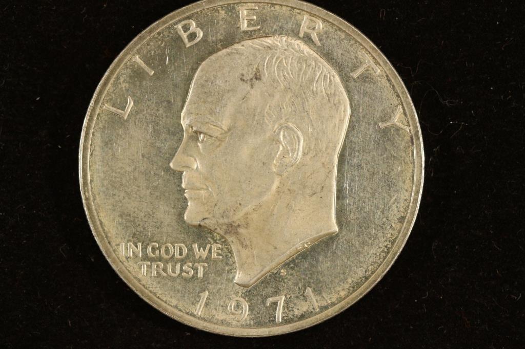 1971-S IKE SILVER DOLLAR PROOF