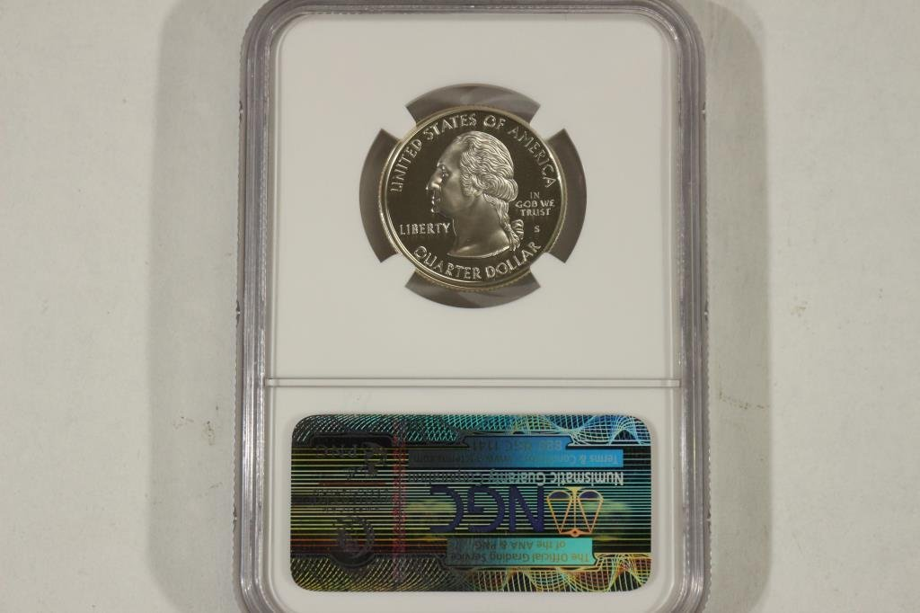 1999-S SILVER CONNECTICUT QUARTER NGC PF69 ULTRA - 2