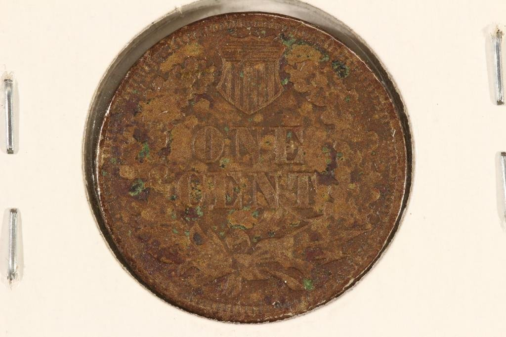 1863 INDIAN HEAD CENT - 2