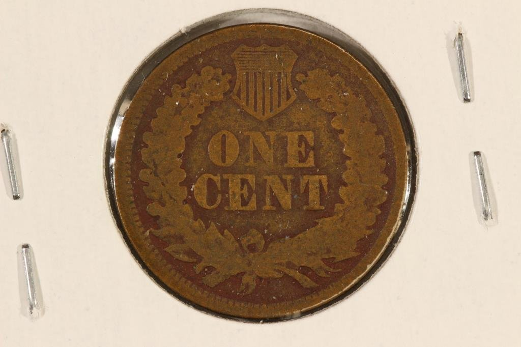 1865 INDIAN HEAD CENT - 2