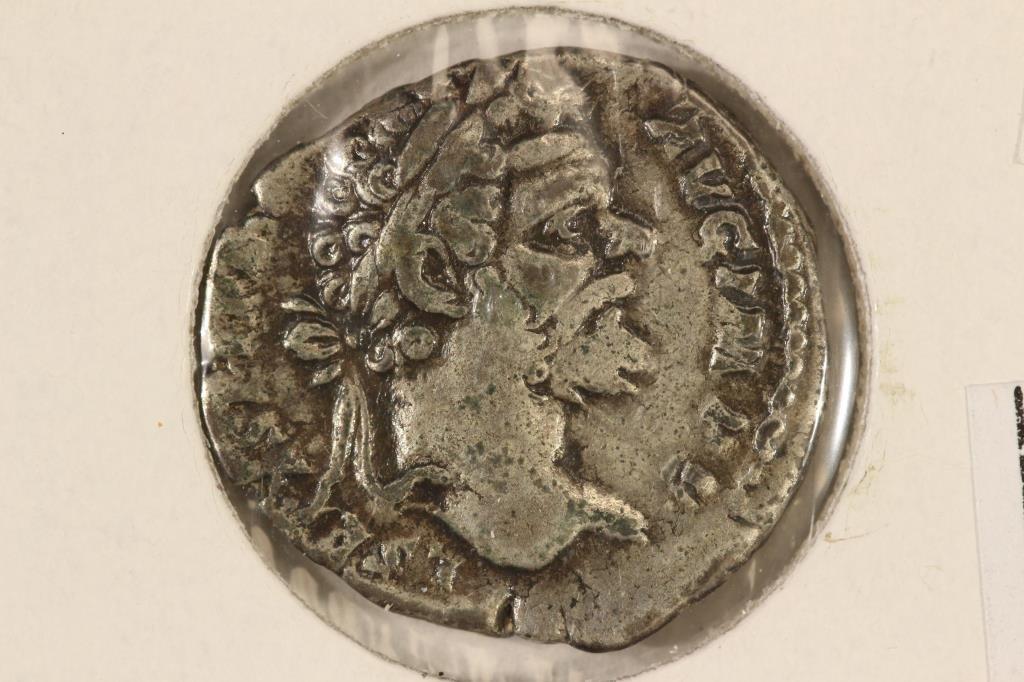SILVER 193-211 A.D. SEPTIMIUS SEVERUS ANCIENT COIN