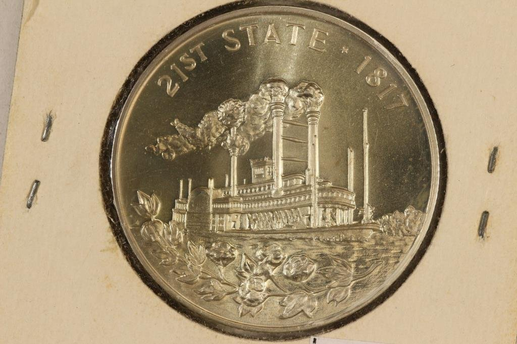1967 MISSISSIPPI SESQUICENTENNIAL STERLING