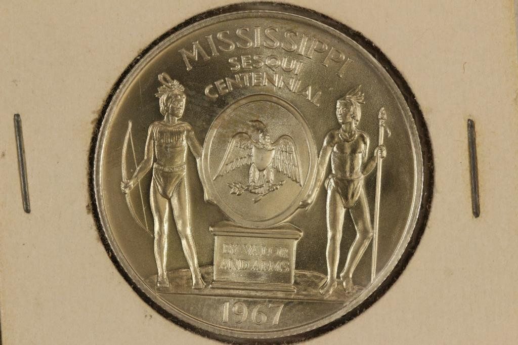 1967 MISSISSIPPI SESQUICENTENNIAL STERLING - 2