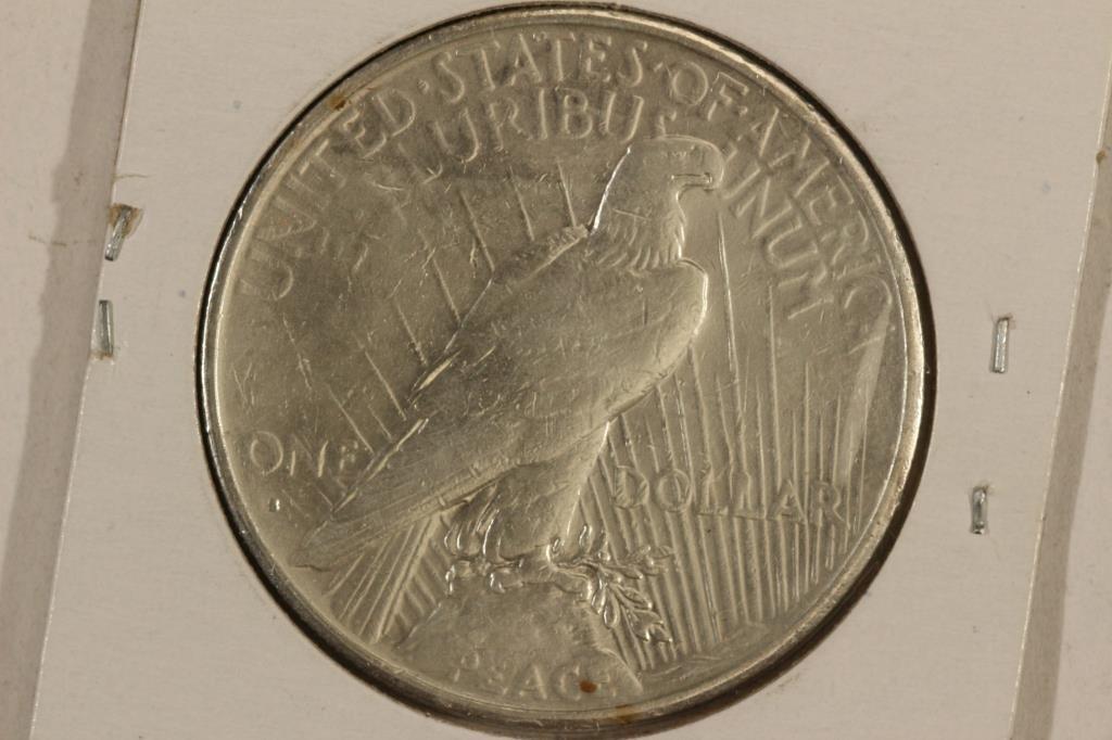 1934-S PEACE SILVER DOLLAR KEY DATE - 2