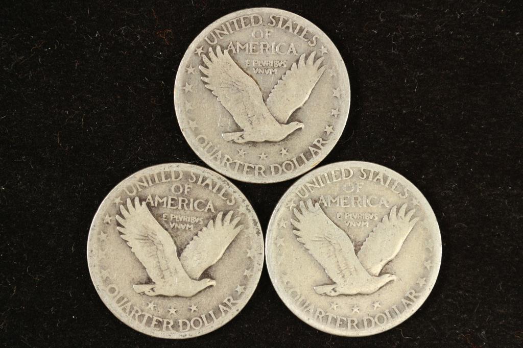 1927,28 & 30 STANDING LIBERTY QUARTERS - 2