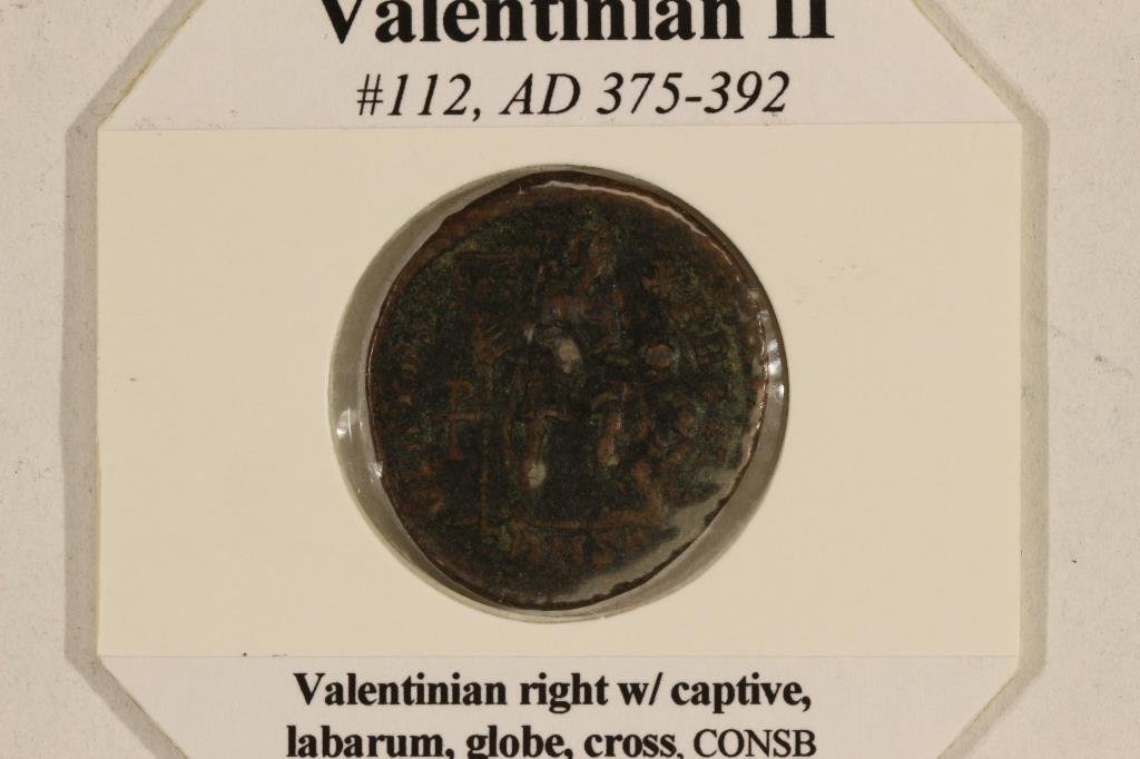 375-392 A.D. VALENTINIAN II ANCIENT COIN VERY FINE - 3