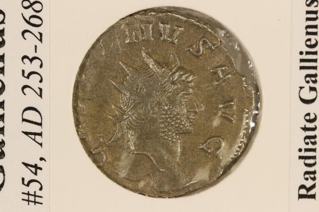 SILVER 253-268 A.D. GALLIENUS ANCIENT COIN