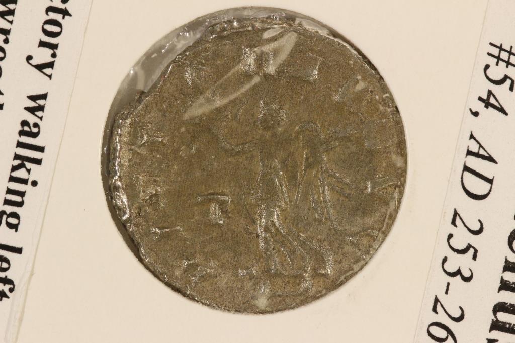 SILVER 253-268 A.D. GALLIENUS ANCIENT COIN - 2