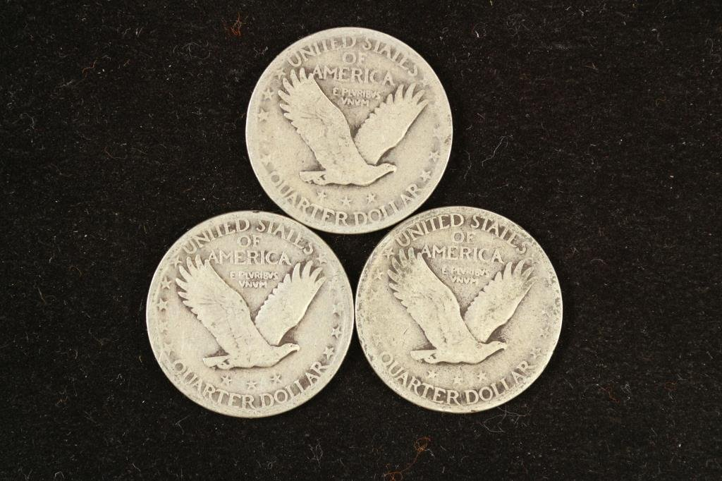 1926,27 & 29 STANDING LIBERTY QUARTERS - 2