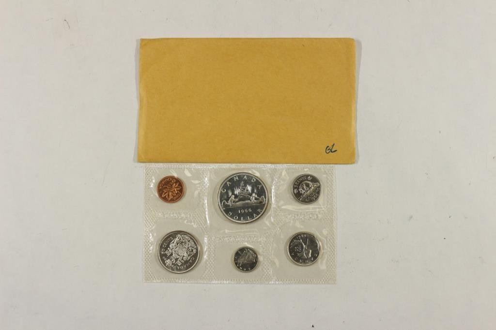 1966 CANADA SILVER (PF LIKE) SET WITH ENVELOPE