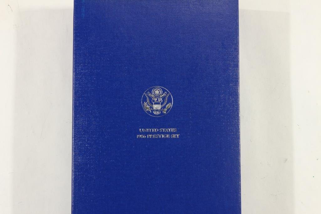 1986 US PRESTIGE PROOF SET STATUE OF LIBERTY - 3