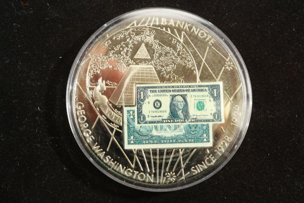 "2"" BANK NOTES OF THE USA PROOF TOKEN"