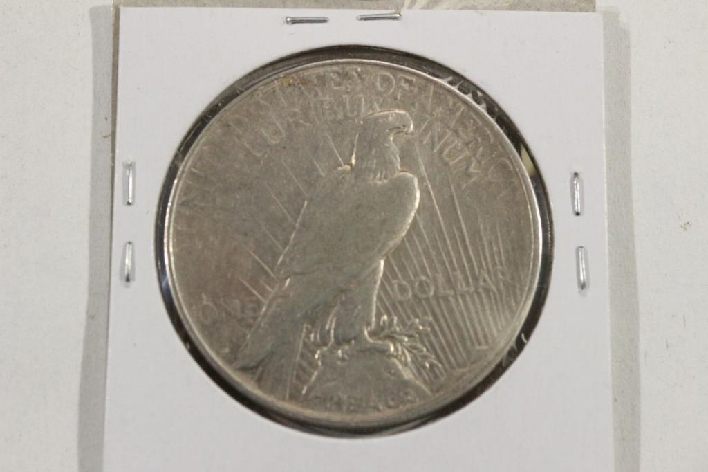 1922-D PEACE SILVER DOLLAR - 2