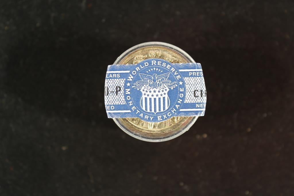 ROLL OF 12-2010-P FILLMORE DOLLARS BRILLIANT UNC