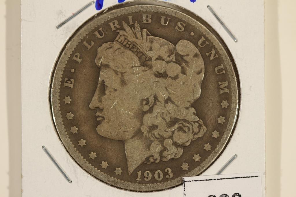 1903 MORGAN SILVER DOLLAR BETTER DATE