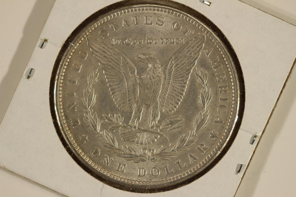 1889 MORGAN SILVER DOLLAR - 2
