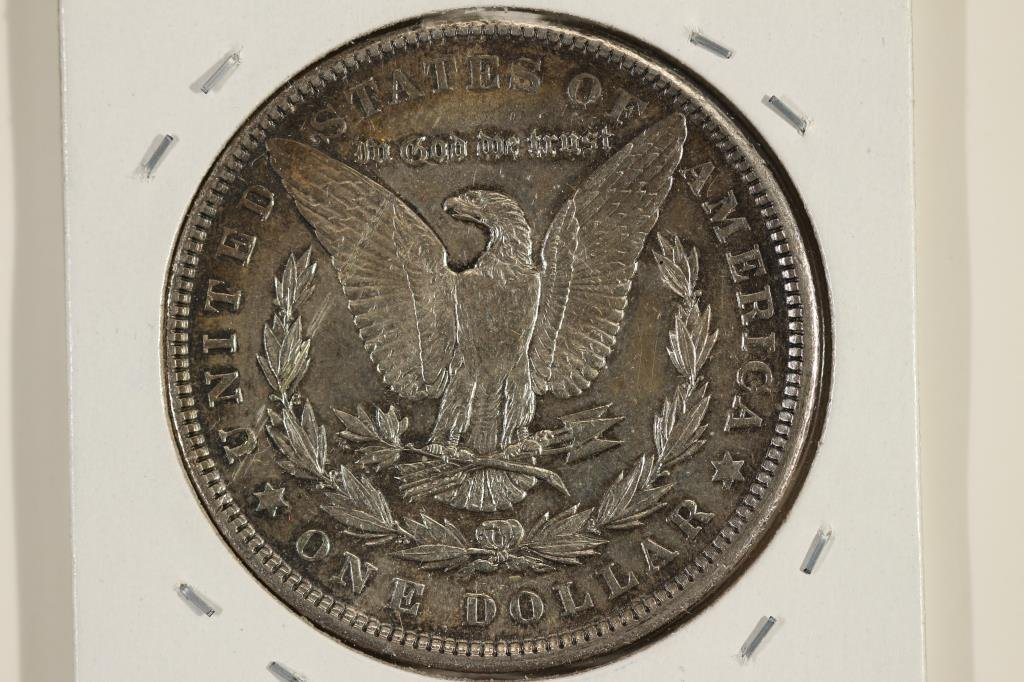 1903-P MORGAN SILVER DOLLAR AU SCRATCHED REV. - 2