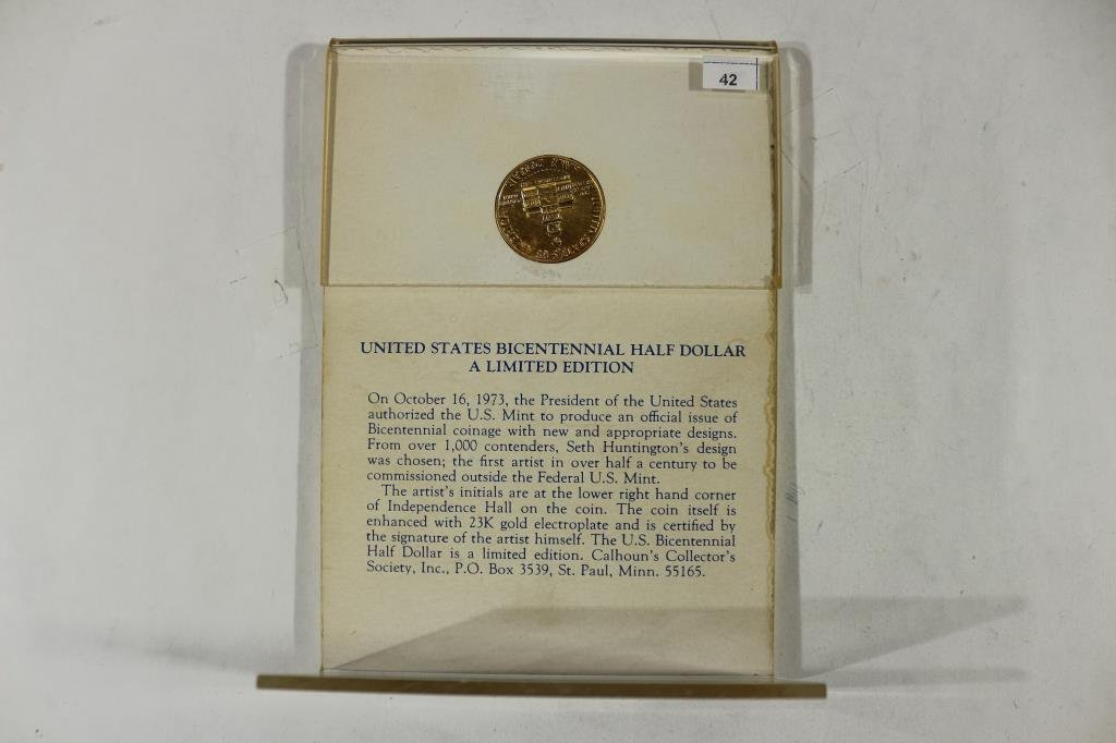 1776-1976-D BICENTENNIAL KENNEDY HALF DOLLAR - 2