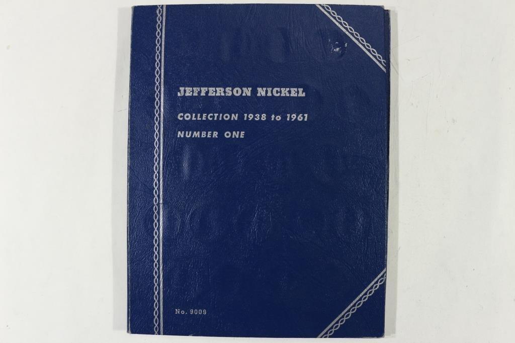 PARTIAL 1938-1961 JEFFERSON NICKEL SET - 5