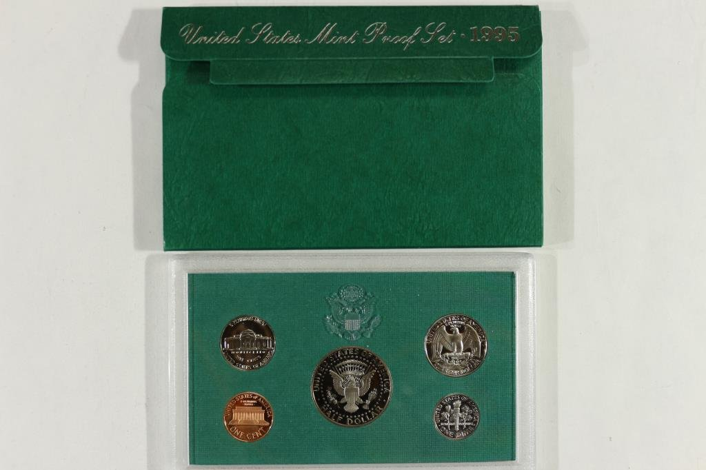 1995 US PROOF SET (WITH BOX) - 2